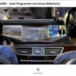 Новый S-Class Mercedes-Benz обойдется без водителя