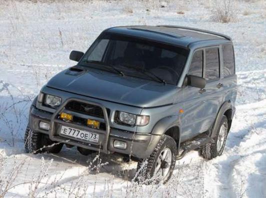 УАЗ Симбир – что нового в конструкции внедорожника.