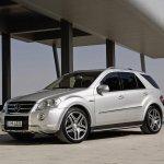 Mercedes-Benz ML обзавелся тюнинг-пакетом от Brabus