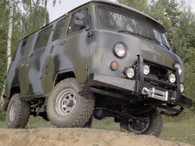 """Тюнинг двигателя УАЗ Буханка """"дизельным сердцем"""""""
