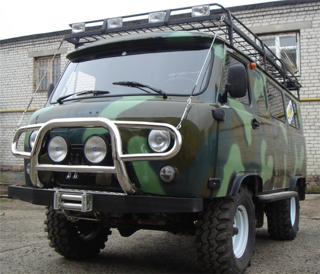 Выбор и установка защиты УАЗ Буханка. 1-я часть
