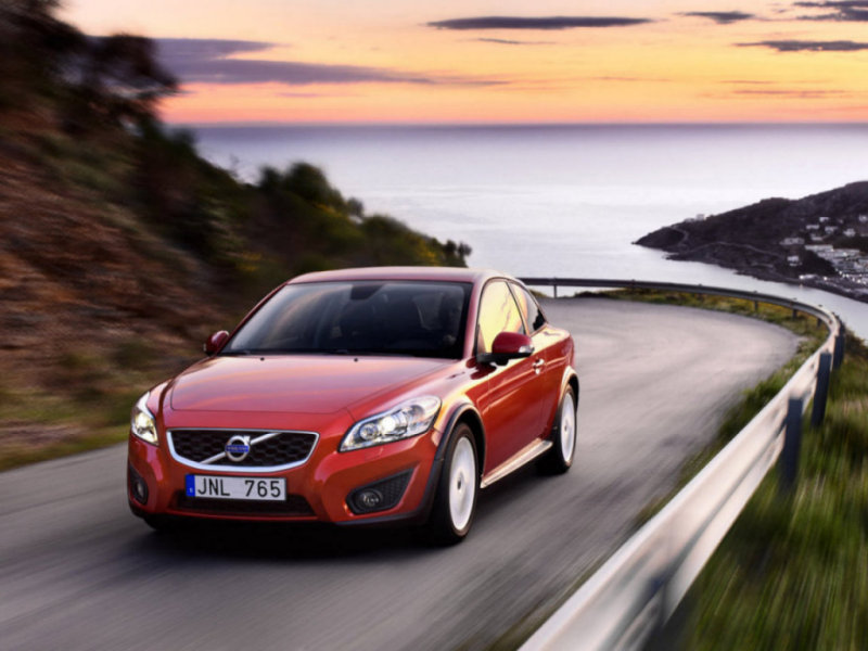 Электрокар Volvo C30 – холода не помеха