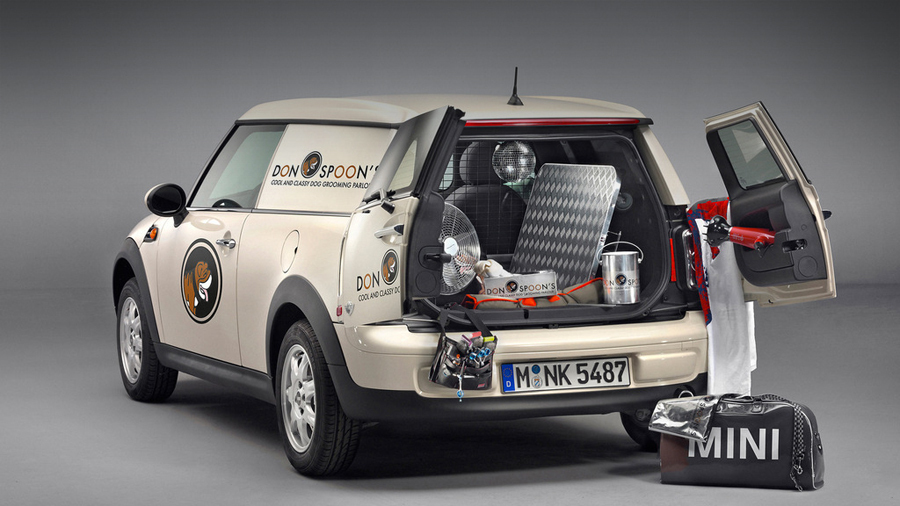Mini Clubvan - Грузовик от Mini