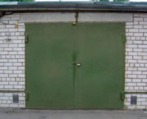 Усиление гаражных ворот