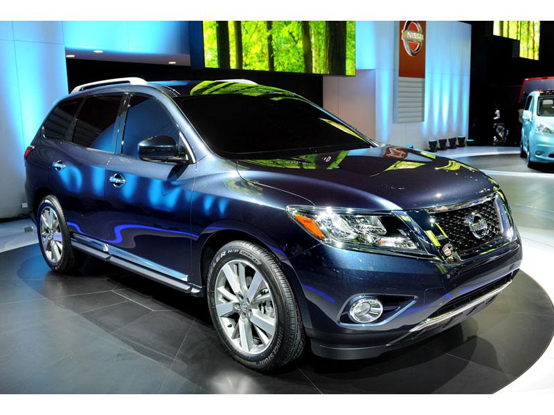 Nissan Pathfinder 2013 скоро появится на продаже