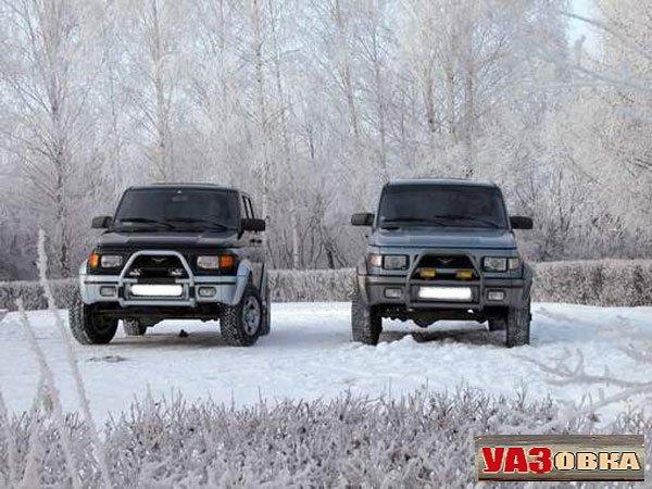 Рождение УАЗ-3162 Симбир