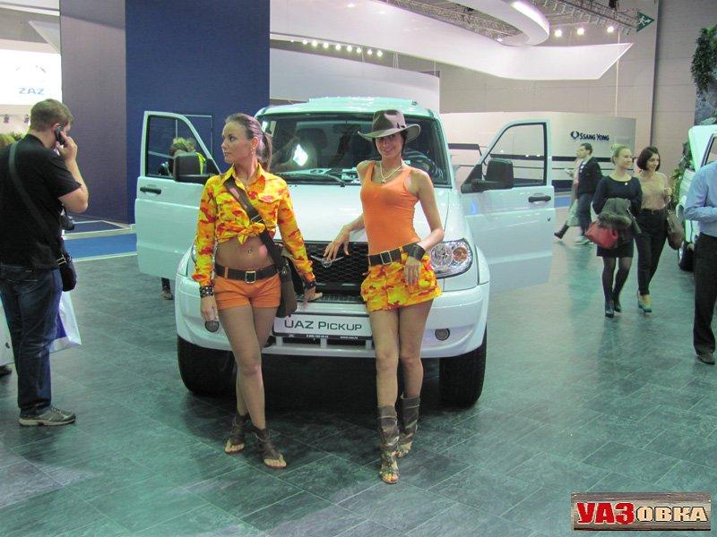 УАЗ Пикап 2012 года выпуска