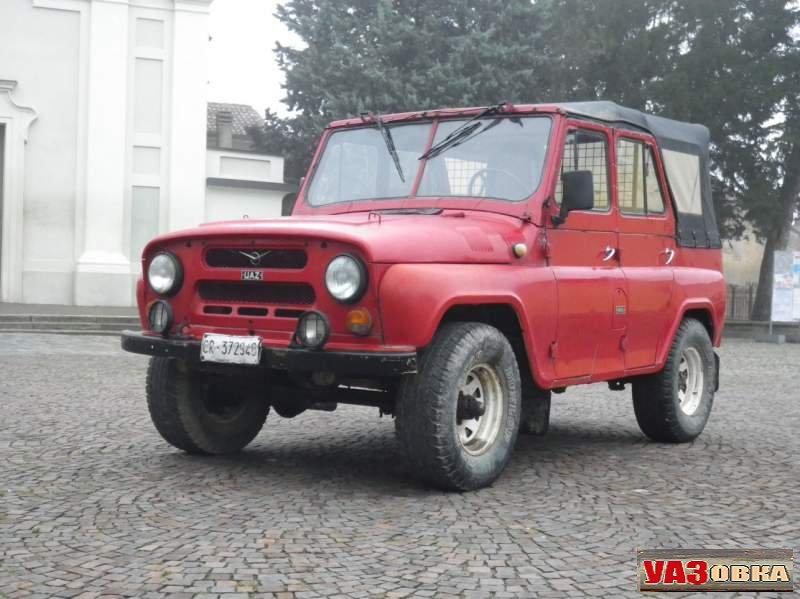 Модификации УАЗ 469 для зарубежных рынков