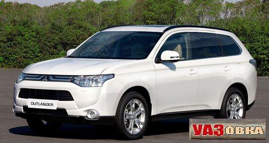 Кардинальное обновление Mitsubishi Outlander 2013 модельного года