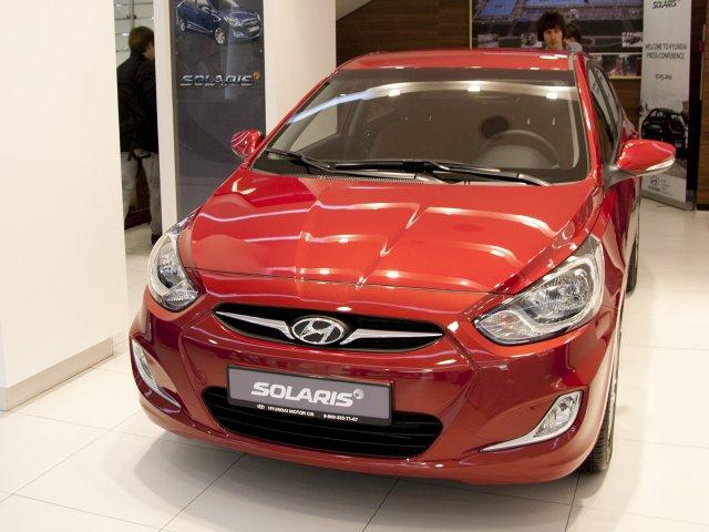 Hyundai Solaris авто для наших дорог
