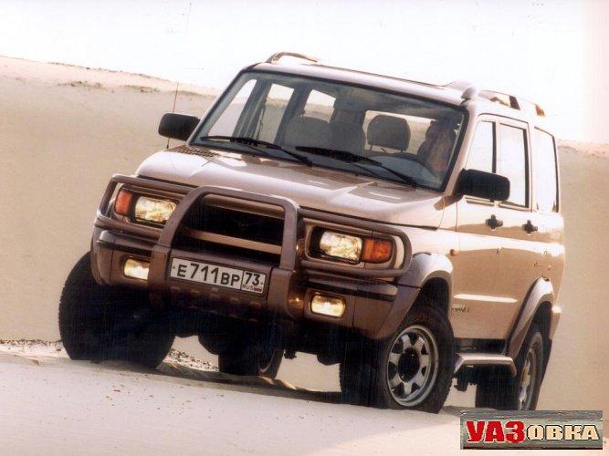 УАЗ 31622 Симбир. Первый и последний рестайлинг
